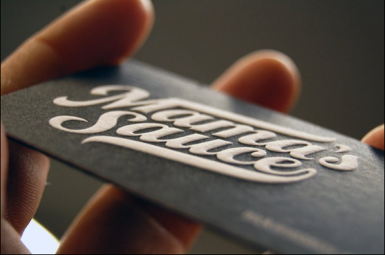 Show Your Depth: 50 Letterpress Business Cards :: Design ...