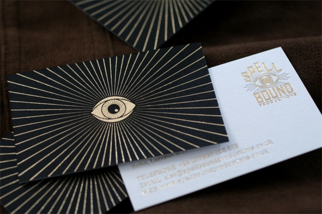 letterpress-business-cards spellbound-productions