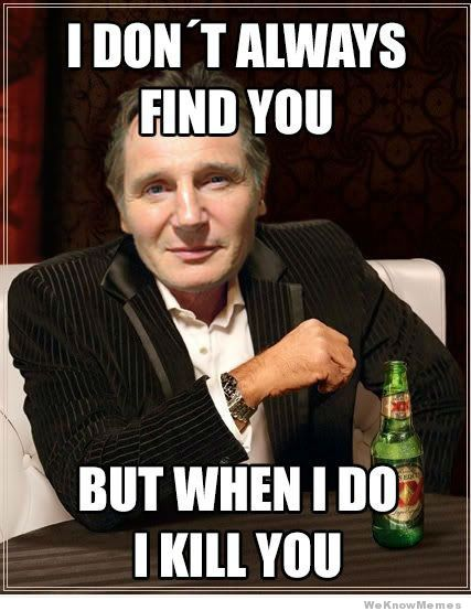 The 20 Best Liam Neeson Memes :: Movies :: Galleries :: Paste