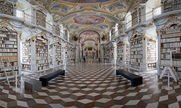 libraries2 admont-abbey-library