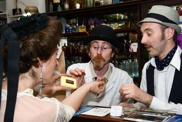 literary-dublin web-episode-5-lotus-eaters-in-sweny-s-chemist-on-lincoln-pla