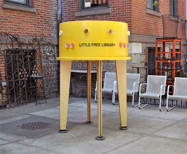 little-libraries yellowlib