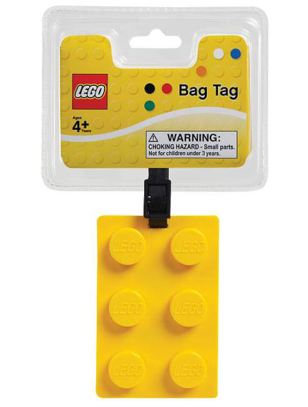 Luggage Tags 4legobringtag