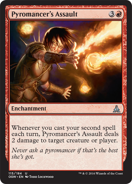 magicpreviewcards oath---pyromancers-assault