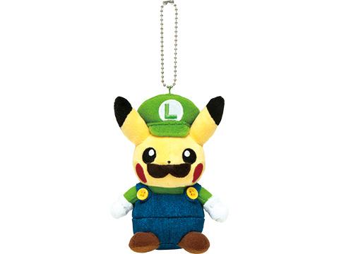 mario-pikachu luigi-pikachu-keychain