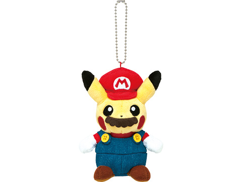 mario-pikachu mario-pikachu-keychain