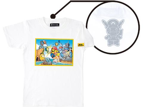 mario-pikachu mario-pikachu-tshirt-grey