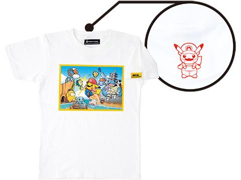 mario-pikachu mario-pikachu-tshirt-red