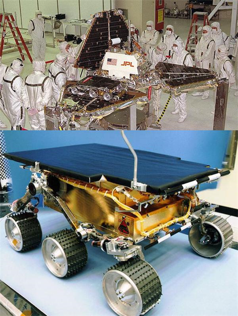 mars-rovers pathfinder-and-sojourner