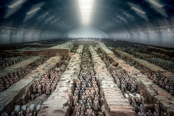 mausoleums terracotta-army-china