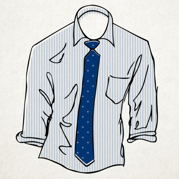 Menswear Cheat Sheet How To Pair Shirts And Ties Style