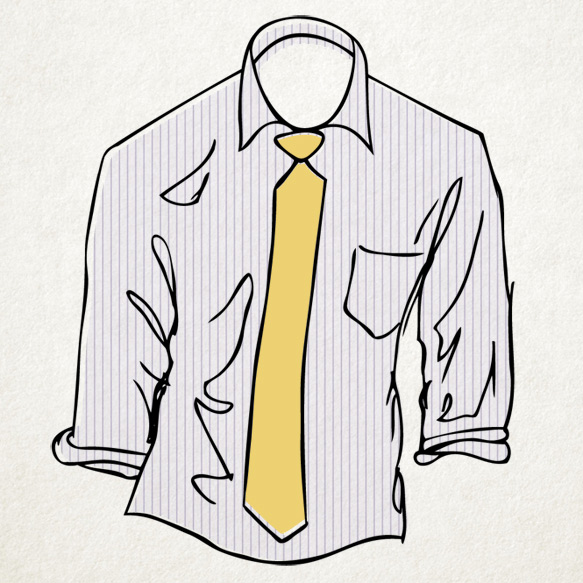 Menswear Cheat Sheet: How to Pair Shirts and Ties