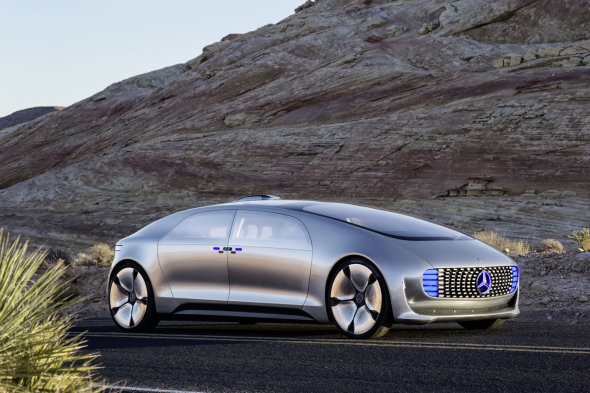 Check Out Mercedes Luxury Self Driving Concept Car From The Future