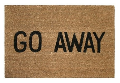 message-doormats away