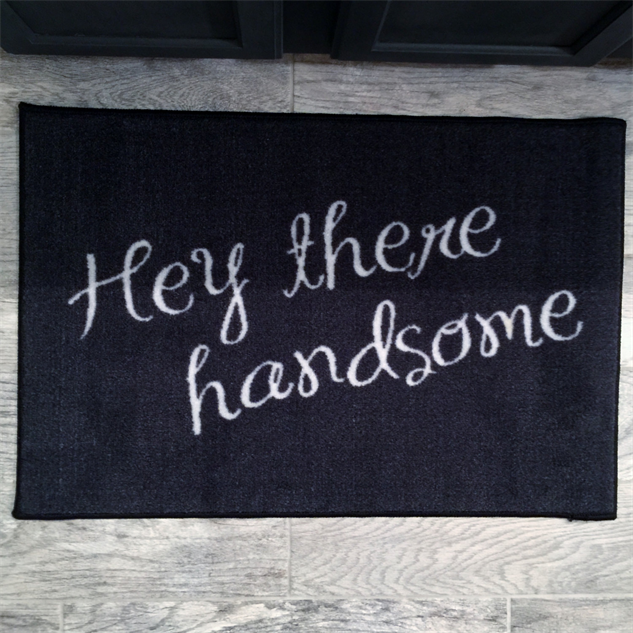 message-doormats handsome