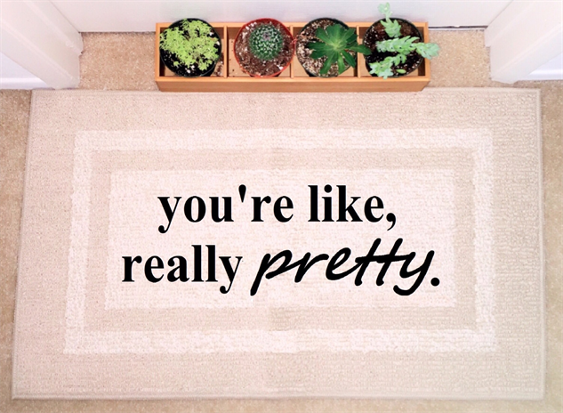 message-doormats pretty