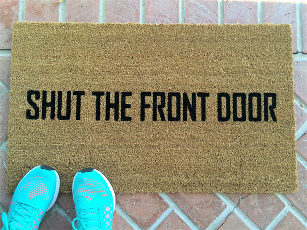 message-doormats shut