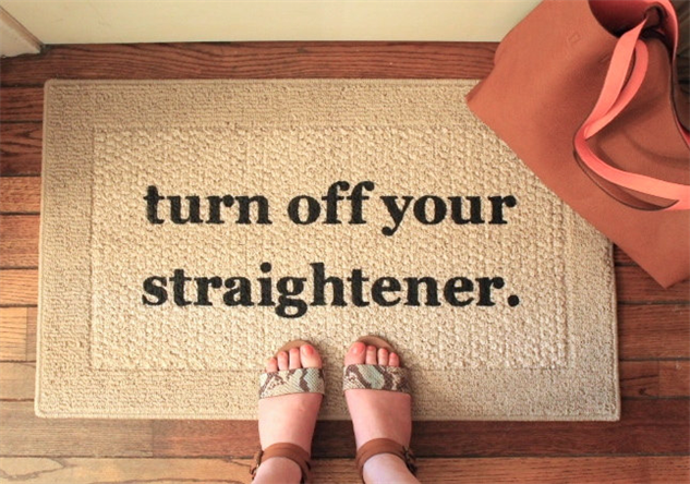 message-doormats straightener