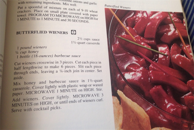 microwave-cookbook butterflied-wieners