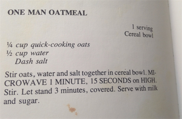 microwave-cookbook one-man-oatmeal