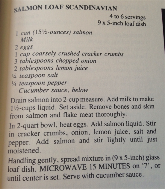 microwave-cookbook salmon-loaf