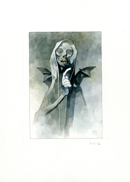 mignolawatercolors ghost231