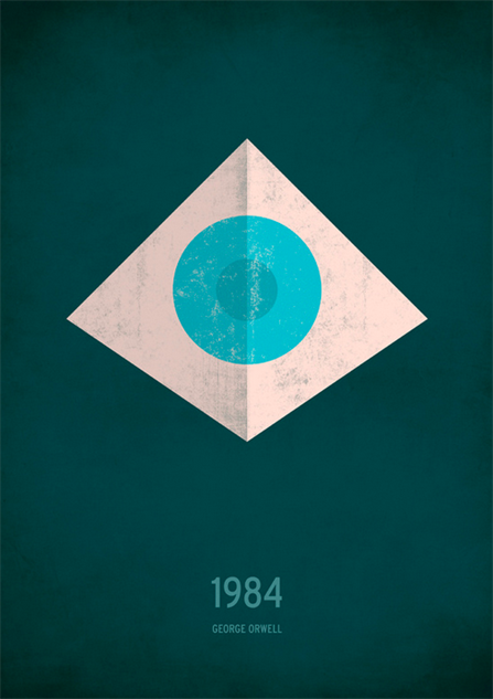 Minimalist Book Covers Classic ~ Classic books illustrated with a minimalist twist