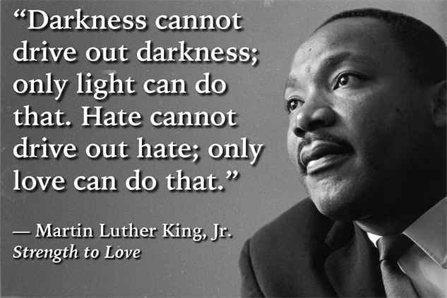 Martin Luther King Love Quotes Best Five Powerful Quotes From Strength To Lovemartin Luther King