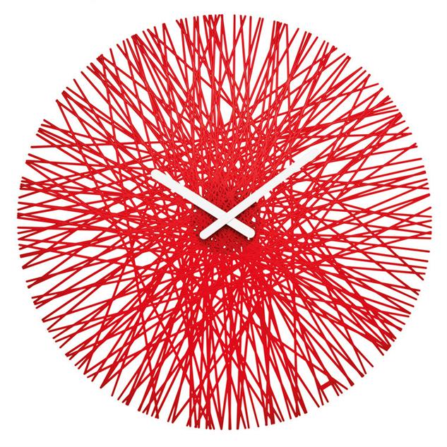 designer wall clock brushed aluminum modern clocks amazon pe