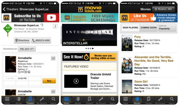 movieapps movietickets