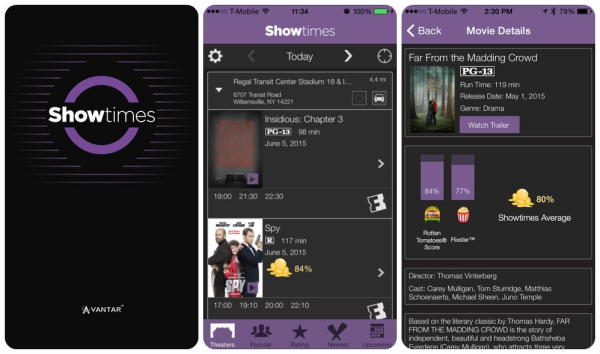 movieapps showtimes