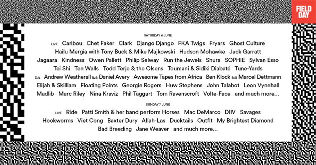 music-posters field-day-festival-2015