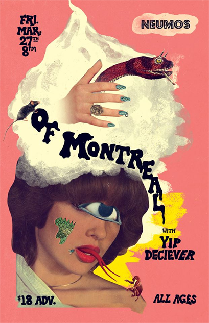 music-posters of-montreal-neumos-seattle