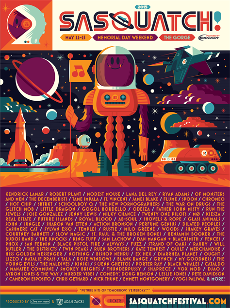 music-posters sasquatch2015-poster-2