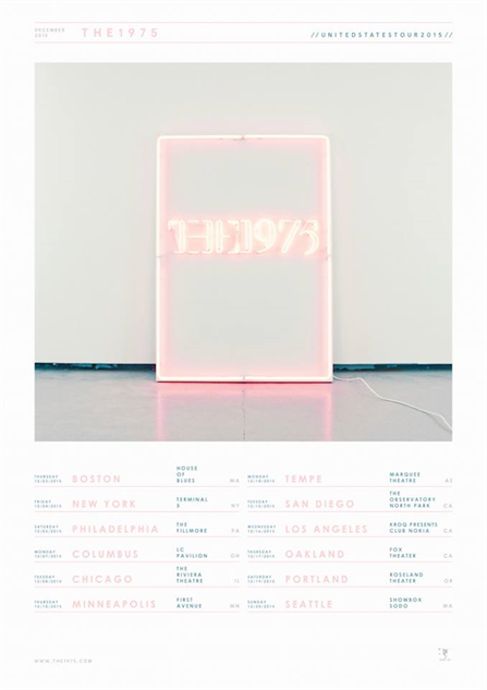 music-posters the-1975-us-tour