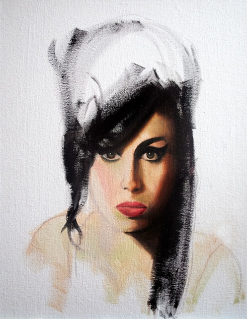 musician-oil-paintings- amy2