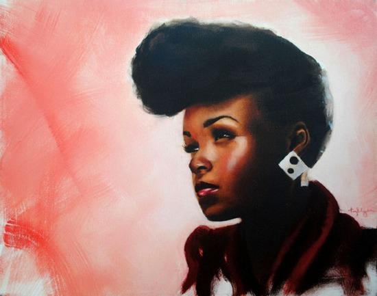 musician-oil-paintings- janelle2