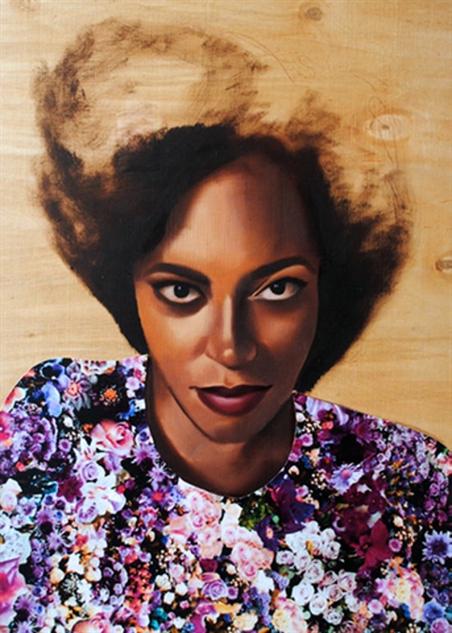 musician-oil-paintings- solange