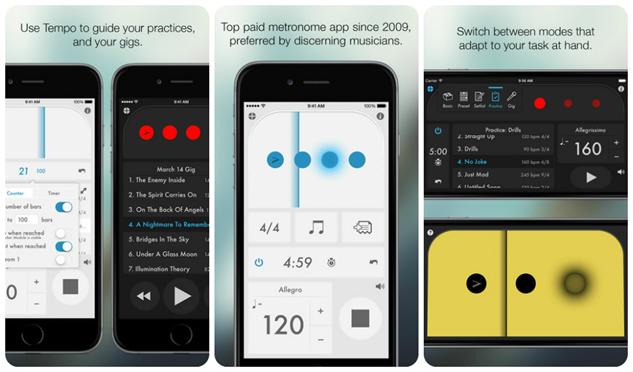 musicians-apps tempo