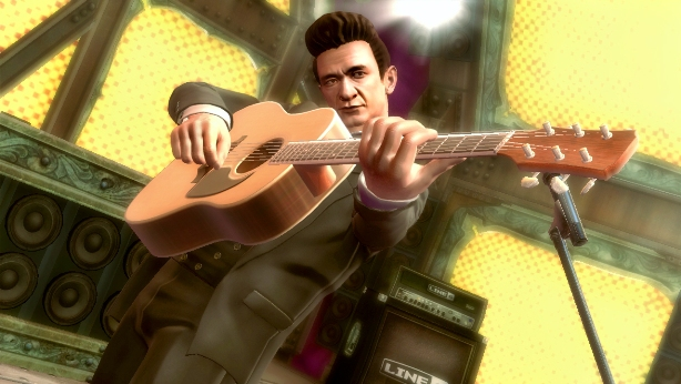 musicians-in-videogames johnny-cash-guitar-hero-5