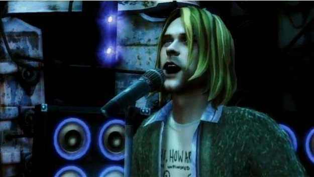 musicians-in-videogames kurt-cobain-guitar-hero-list