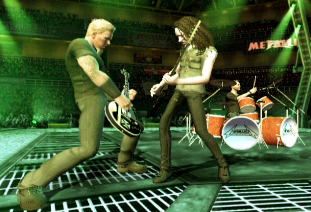 musicians-in-videogames metallica-guitar-hero