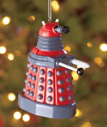 nerdy christmas ornaments 15 dalek - Nerdy Christmas Ornaments