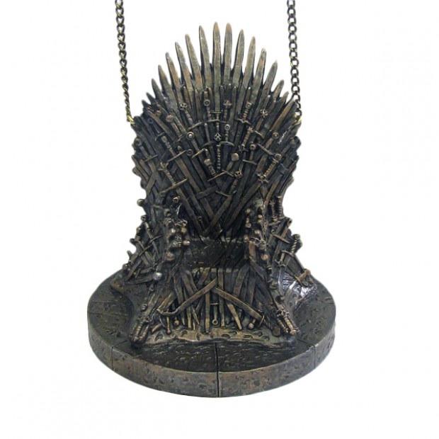 nerdy christmas ornaments 15 throne - Nerdy Christmas Ornaments