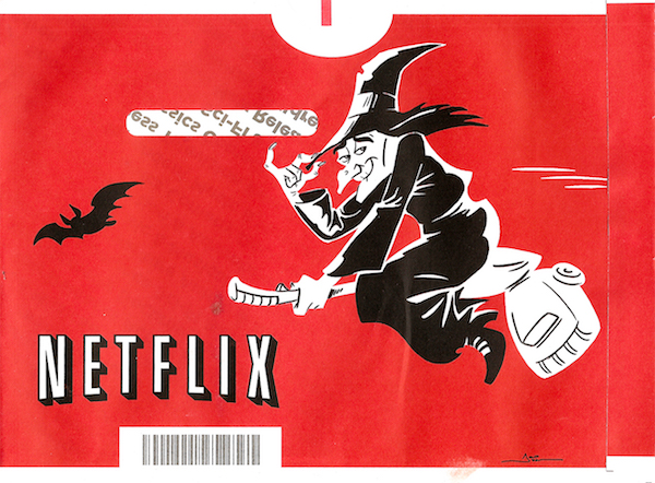 netflix-dvd-envelopes the-witch