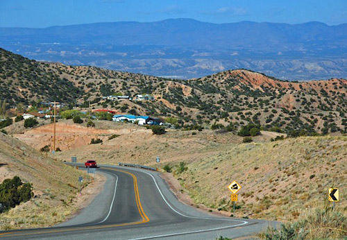 Distance From Albuquerque To Santa Fe >> Drive-Thru Americana: New Mexico :: Travel :: Galleries :: Paste