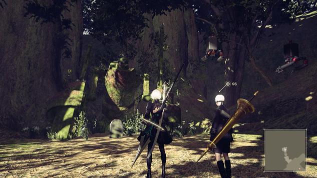 niero-automata-robots forest-king