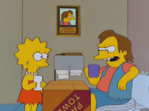 non-classic-simpsons lisa-gets-an-a-54