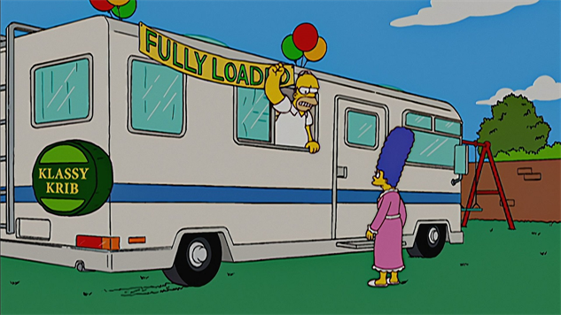 non-classic-simpsons mobile-homer