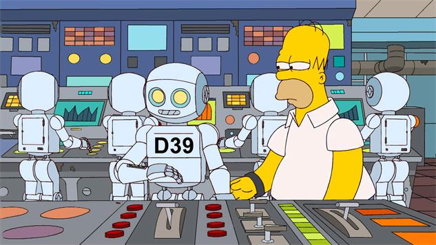 non-classic-simpsons simpsons-robot